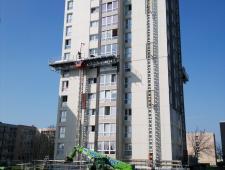Rénovation des façades et couverture photovoltaïque 3 Tours Granville