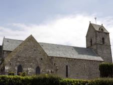 Rénovation d'une église en pierre de pays